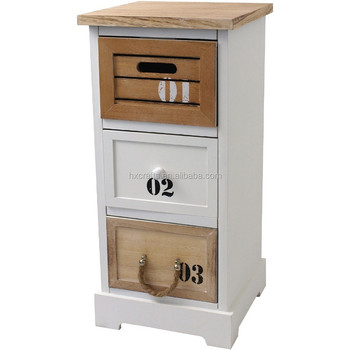 Gut Wooden Cabinet In Vintage Look/shabby-look Cabinet/maritimer  QP49