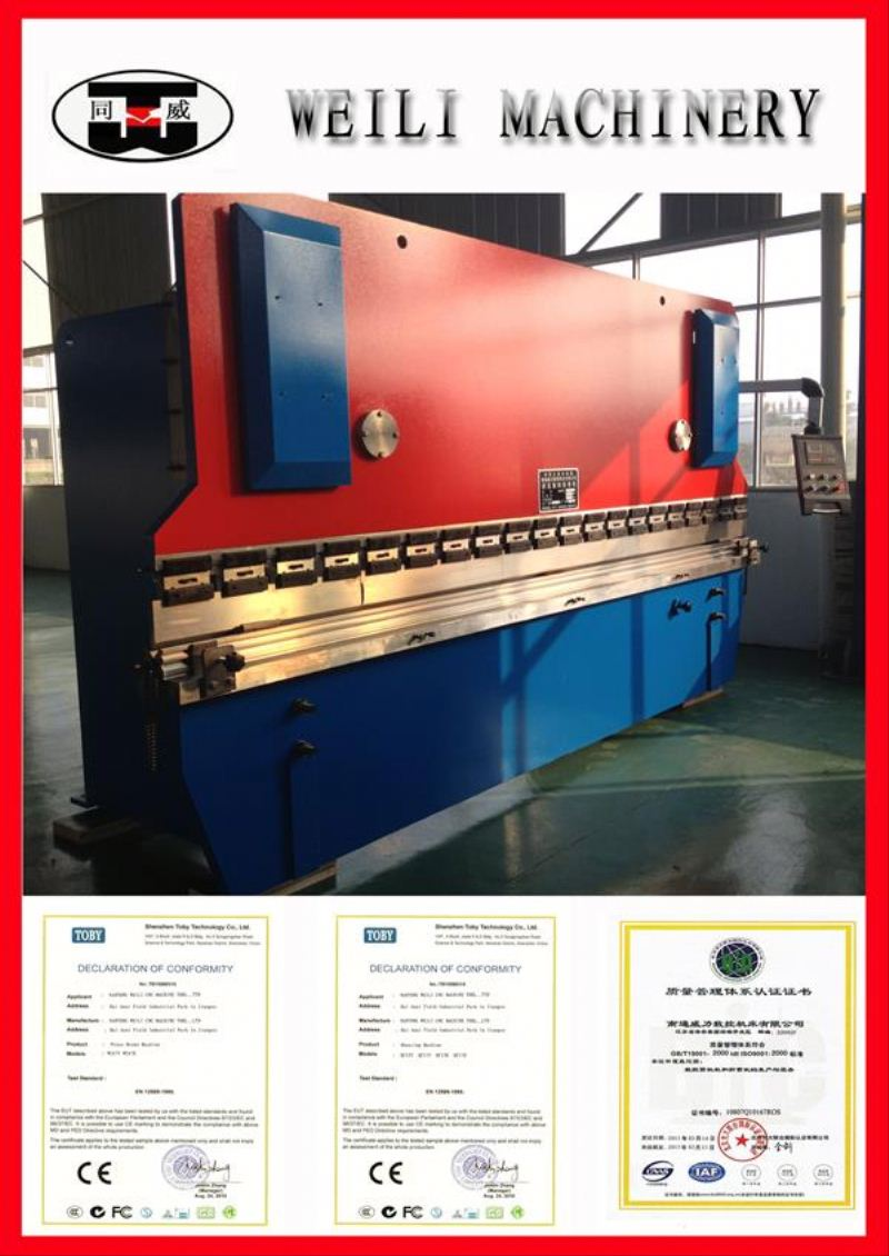 High Quality Cheap Prices WC67Y-100 press brake blade