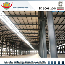 Excellent quality readymade steel structures for workshop with real estate drawing