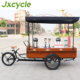 China van cargo tricycle for ice cream and coffee