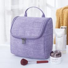 Luxury Large Capacity Waterproof Canvas Travel Organizer Kit Hanging Toiletry Bag