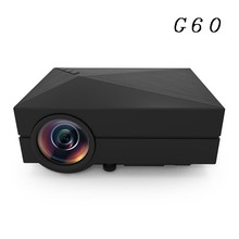 Good Brightness 1800 lumens full HD outdoor video projector G60 mini portable projector