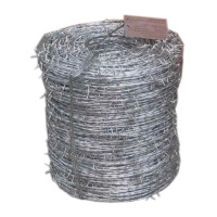 Used galvanized barbed wire for sale/pvc coated barbed wire price weight per ton