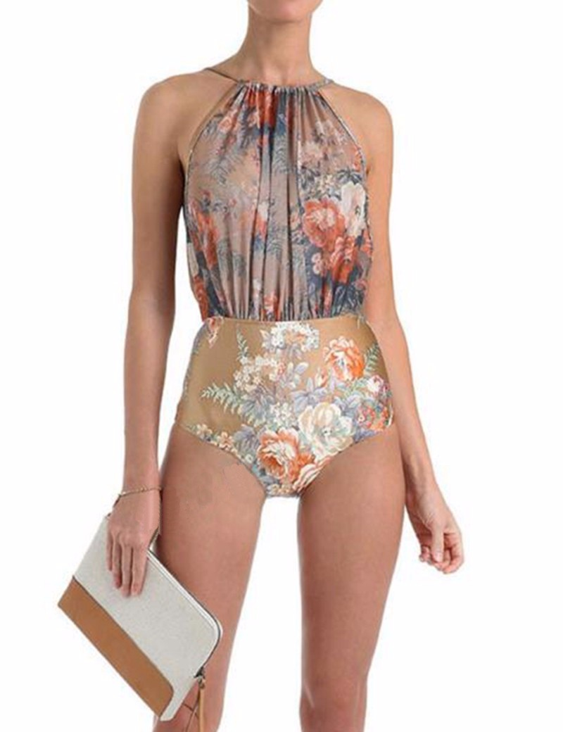 For those who opt for girly types, cute one piece bathing suits including crochet one piece swimsuit and flounce one piece swimsuit should be in your wardrobe. As for bold ladies, we have sexy one piece bathing suits like low back one piece swimsuits or backless one piece swimsuits.