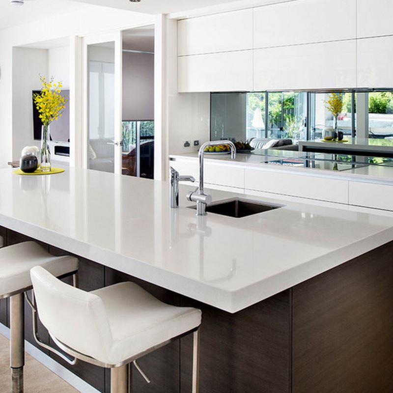 Venta al por mayor alacenas de madera para cocina compre for Muebles de cocina americana modernos