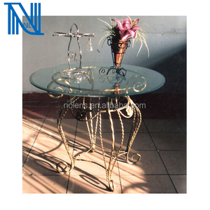 Wrought iron Home's Table,Forged Ornamental Table