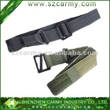 Promotional polyester nylon military suspender security weight lifting climbing five-point safety belt