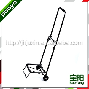 Lightweight small wheels hand trolley cart for old people