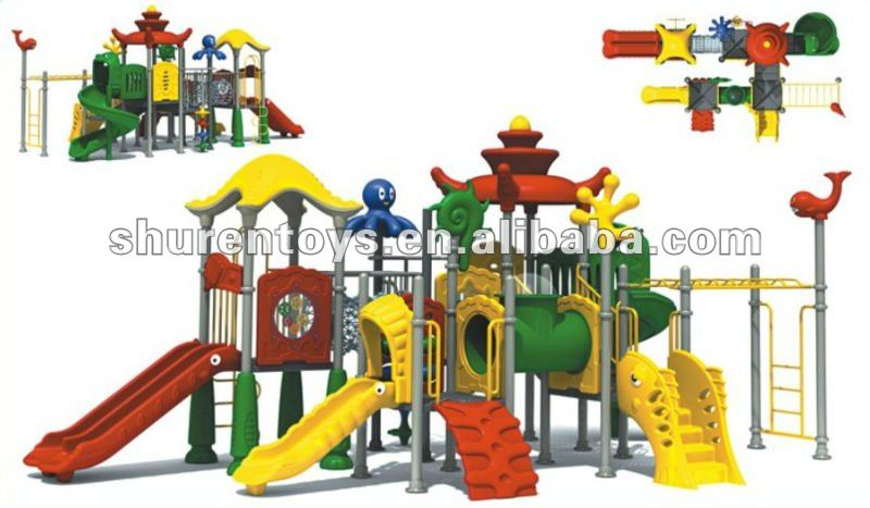 Fun and colorful hot sell outdoor kindergarten play equipment for children