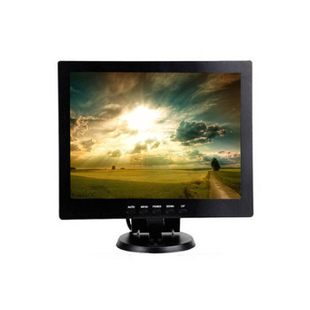 Desktop Pos 10.4 Inch LCD Monitor TFT Led Backlight Computer VGA BNC Monitor With 12V 24VDC Input For CCTV