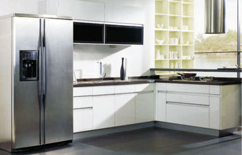 L Shape Lacquer Kitchen Cabinet Of Fashion Kitchen Furniture Without