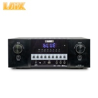 Laix S10-150 Amplificadore Karaoke Reverb Surround Digital Av Control With Key Tone Remote Sound Echo Audio Amplifier