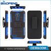 Cool Cell Smart Phone Cover 3 In 1 Hybrid Kickstand Tpu Pc Combo China Supplier Mobile Case For Zte Zmax Pro Z981