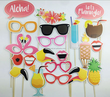 H0065 Hawaiian Party Photo Booth Props Party Favor