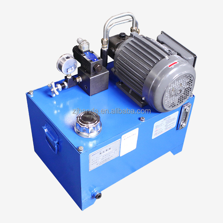 China harge 12 volt 12v 24v 220v dc 700 bar electric diesel micro small mini hydraulic power pack unit pump and motor price list