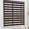 Horizontal pattern and roller type zebra window blind home decoration