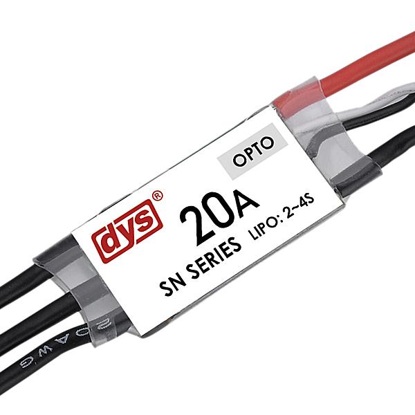 DYS SN20A Mini 20A SimonK ESC OPTO 2-4S 20-500Hz For Multicopters