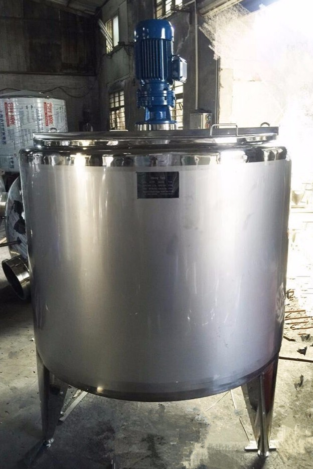 Small Milk Pasteurizer Milk Cooling Tank Milk Pasteurizer