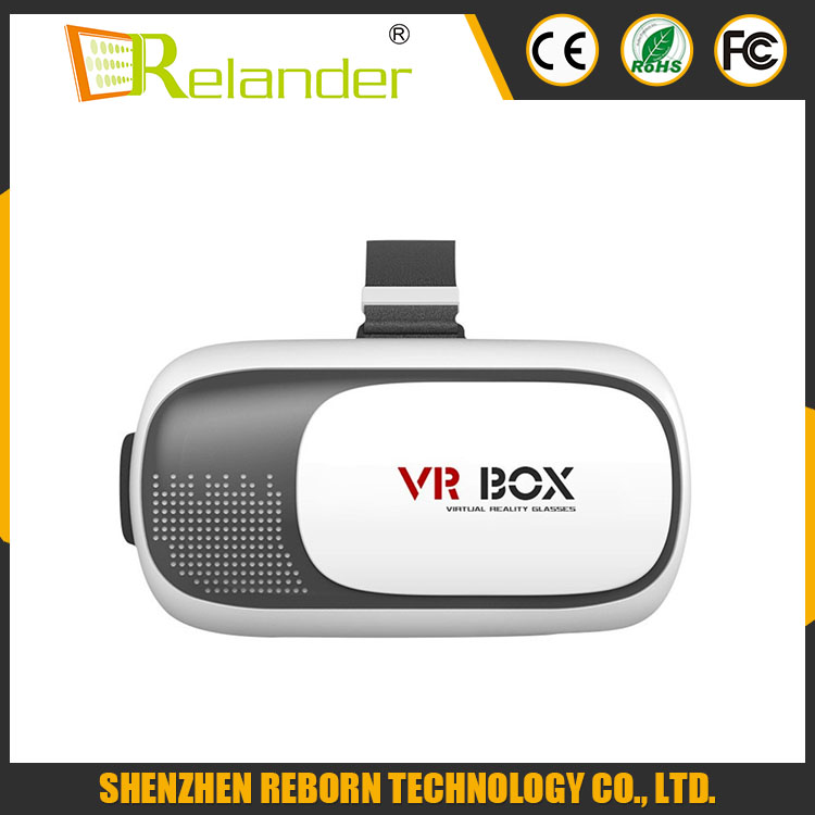 2016 Professional VR BOX II 2 3D Glasses VRBOX Upgraded Version Virtual Reality 3D Video Glasses+ Bluetooth Remote