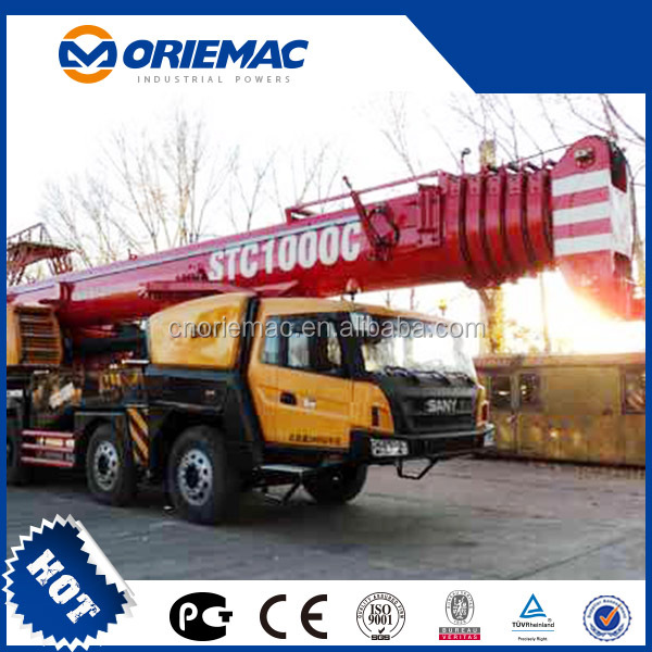 SANY knuckle boom truck mounted crane STC250