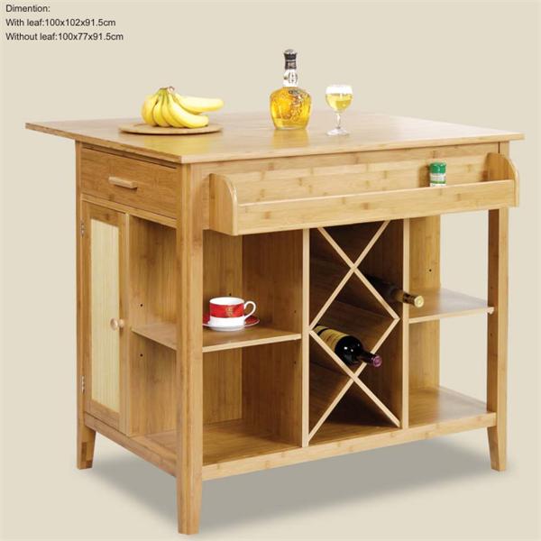 Precio barato De Bambú muebles De Cocina para la cocina china ...