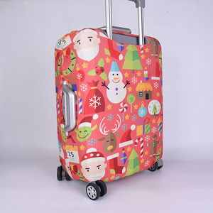 Promotional Digital Printing Elastic Spandex Suitcase Covers Luggage Covers Protective Covers