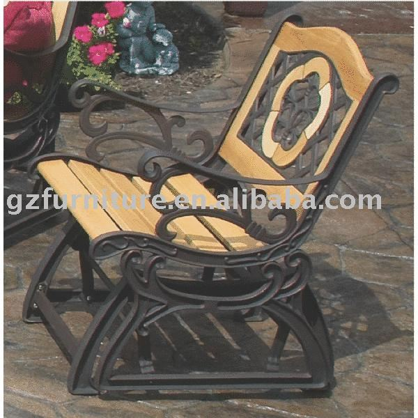 Cast Iron Glider Chair Leisure Product On Alibaba