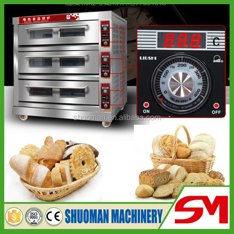Easy operate and high capacity combination oven