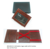 Boshiho business gift set leather handmade wallet