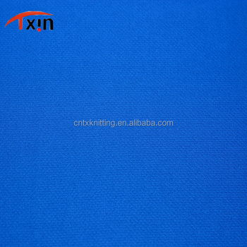 Tongxin Textile hot sale product dry fit functional fabric polyester jersey fabric for sportswear and football wear