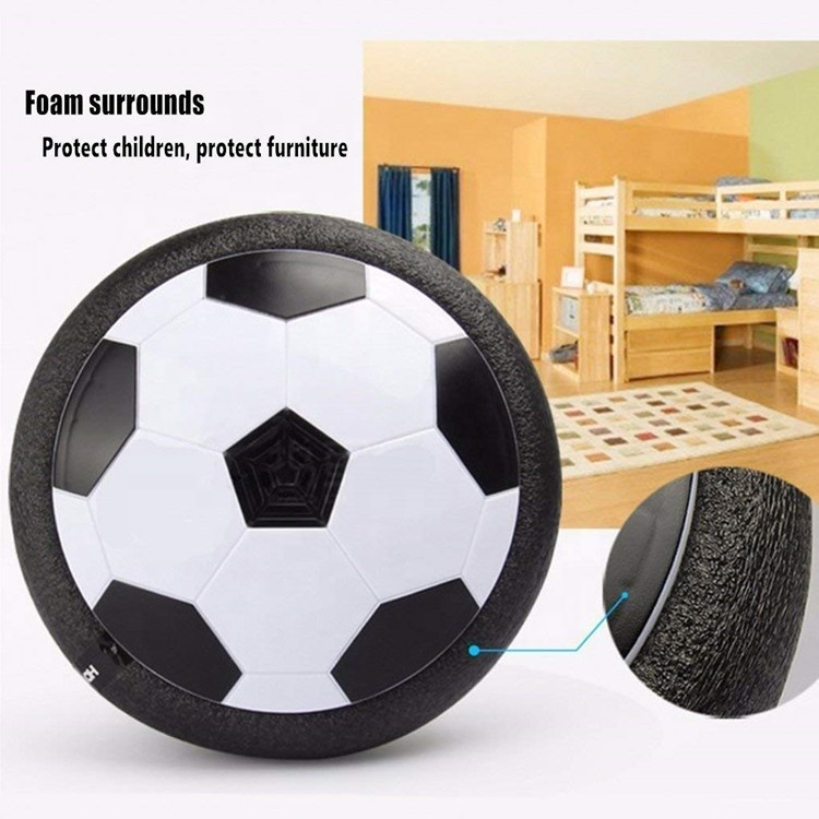 Light Bulbs Lights & Lighting Imported From Abroad Led Lamp Floating Air Power Soccer Ball Music Playing Gliding Football Light Kids Toy Indoor Sports Children New Year Christmas