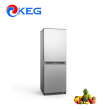 270L High Quality R600a R134a No Frost Compressor American Home Use Double Door Combi Bottom Freezer Refrigerator