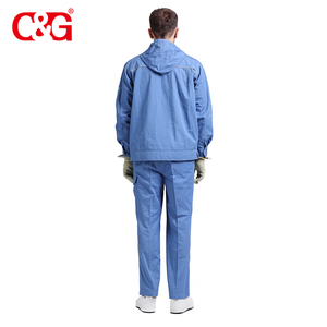Standard size AC high electrostatic shielding construction work clothes