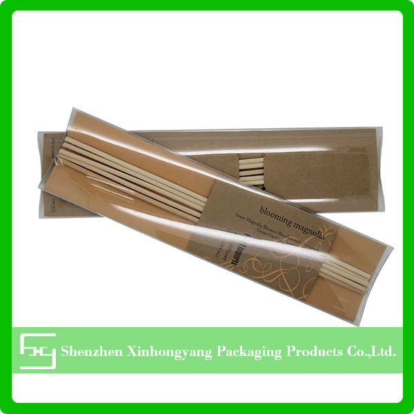 Customize plastic boxes for vase insert stick packaging box