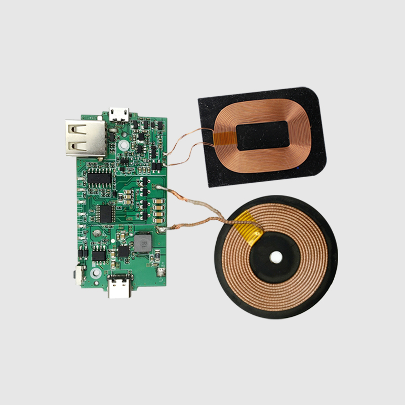 NEWQI custom TI Solution qi wireless charger module <strong>pcb</strong> with receiver