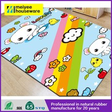 Natural Rubber foam baby play mat/China supplier new products wholesale Eco-friendly Children folding baby play mat gym