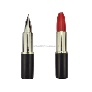 Women Favor Promotional Cosmetic Lipstick ball Pen for promotion