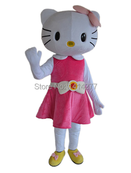 37f2c5a97 Get Quotations · High Quality Hello Kitty Mascot Costume Adult Size Hello  Kitty Costume Dress Costumes