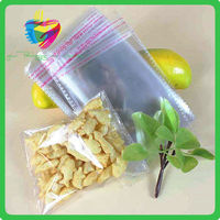 Own Factory Manufacturer supply cheap clear cellophane poly packing plastic opp bag