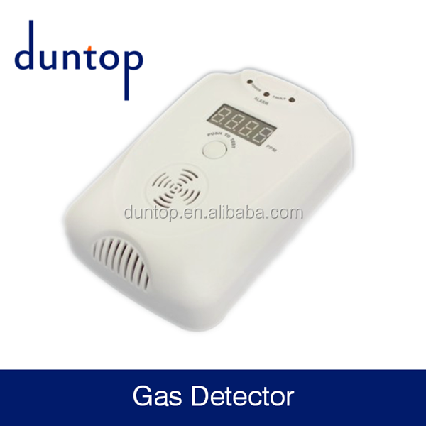 Longlife easy GAS detector indoor fire alarm system for kitchen