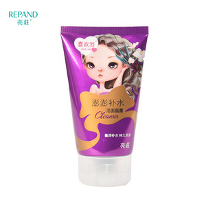 Adults Age Group and Crystal Lotion Form Non Drying Good Facial Face Cleanser For Dry Skin Moisturizing