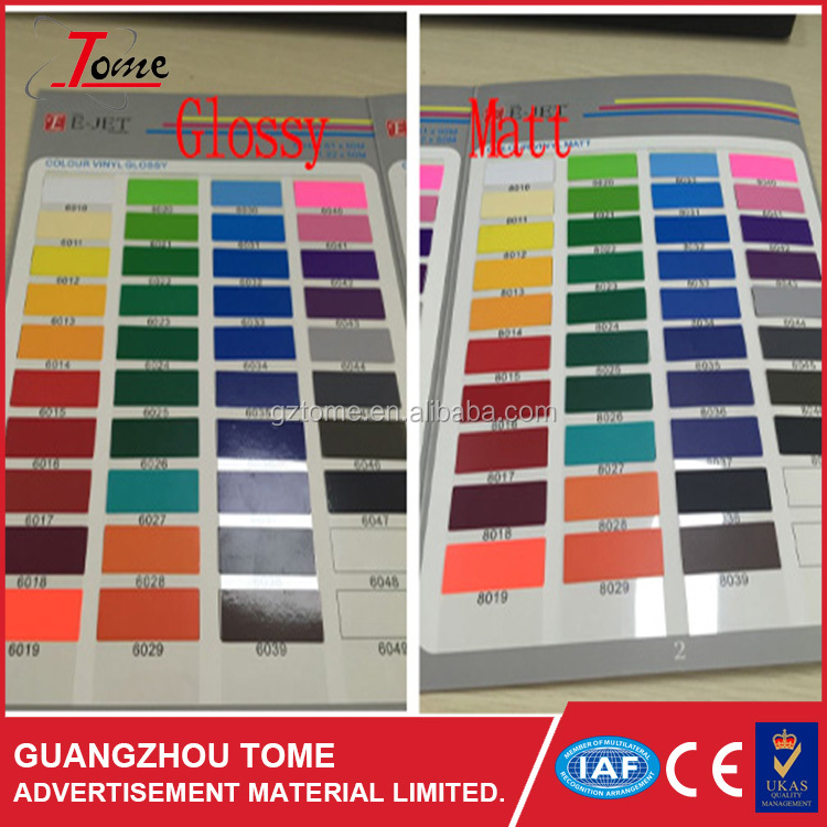 E-jet tome advertisement oracal 651 self adhesive color vinyl stickers with vinyl sign cutter plotter