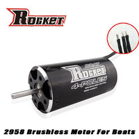 Rc hobby 4 Poles Electric RC Boat Brushless Motor mini motor boat 2958 KV4480 dc brushless motor