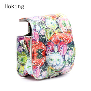 Instax Mini9 Camera Impressionistic Camera Shoulder Bag case
