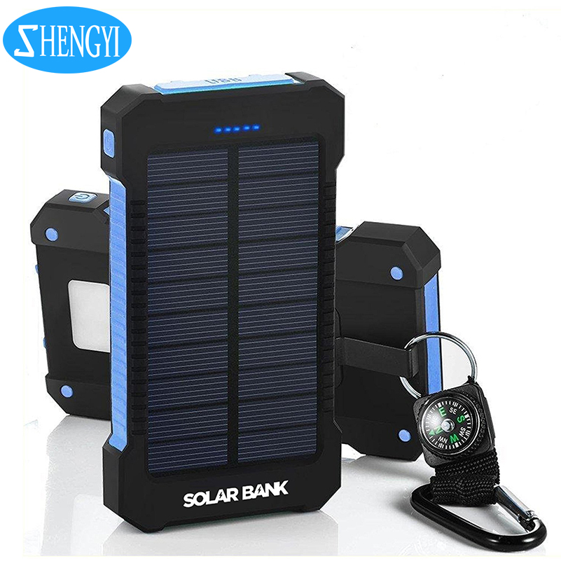 Tren Produk Portabel Charger Solar Sistem Power Bank Solar Power Bank Charger