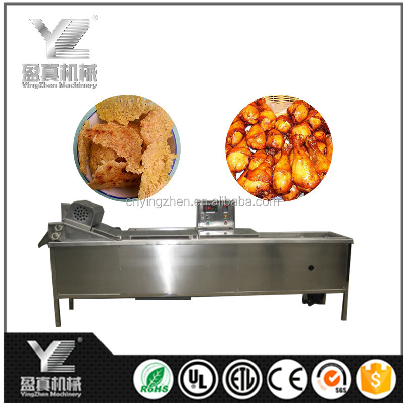 Small Scale Gas Potato Chips Conveyor Fryer