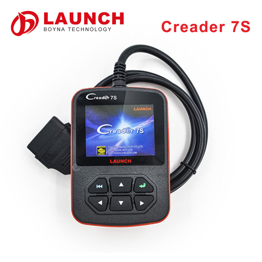 100% Original Launch Creader 7S automotive OBD II code scanners