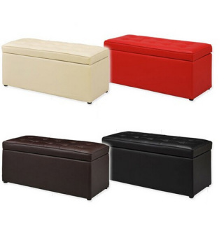 Exceptionnel Modern Multipurpose Storage Box Leather Sofa Stool