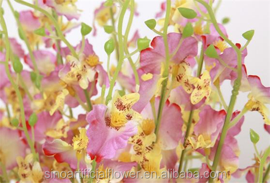 Wholesale Silk Dancing Orchids Artificial Flower For Wedding Decoration