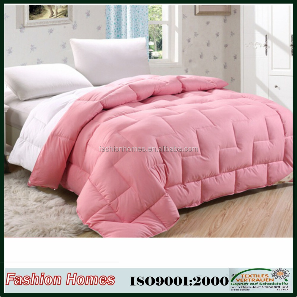 Wholesale Solid Color Home Down Quilt Comforter